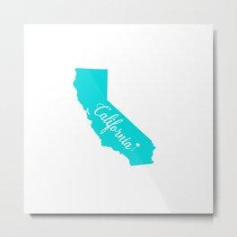 California State Metal Print