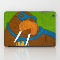 walrus iPad Cases featuring Walrus by subpatch