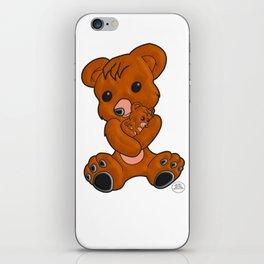 Teddy's Love iPhone Skin