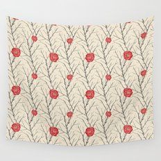 Branch & Roses Wall Tapestry