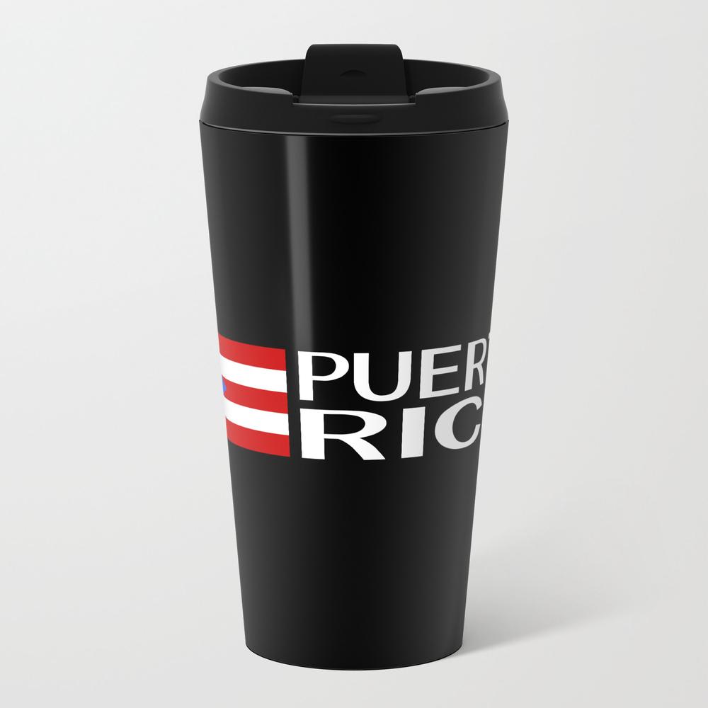Puerto Rico: Puerto Rican Flag & Puerto Rico Travel Mug TRM8975383