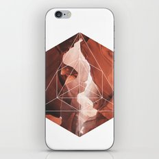 A Great Canyon - Geometric Photography iPhone & iPod Skin