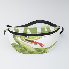 Snakes Life   Reptiles Pets Gift Idea Fanny Pack