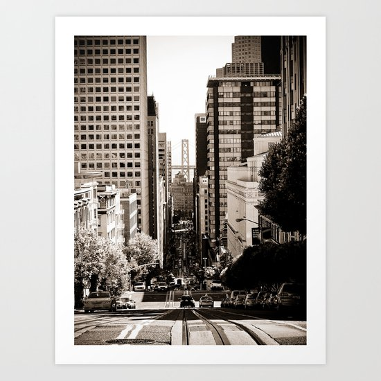 Downtown San Francisco Art Print