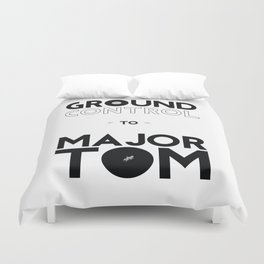 Ground control Duvet Cover