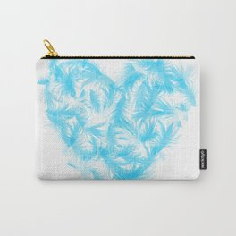 Feathers heart Carry-All Pouch