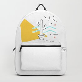 Cactus and confetti Backpack