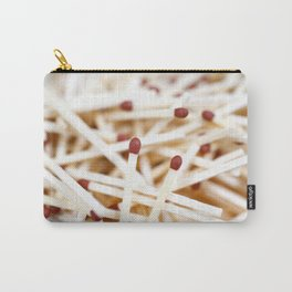 Pile of matches Carry-All Pouch