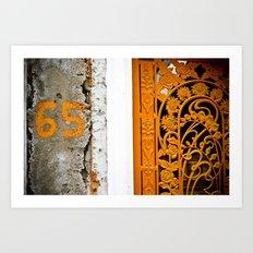 65 Art Print