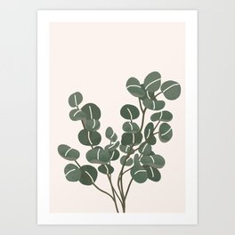 Little Eucaliptus Art Print