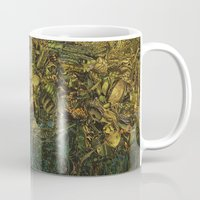 green arrow Mugs featuring Green Arrow  by MelissaMoffatCollage