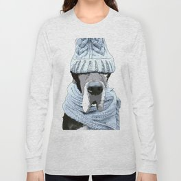 Great Dane Winter is Here Long Sleeve T-shirt