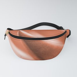 Succulent Leaves Coral Color #decor #society6 #buyart Fanny Pack