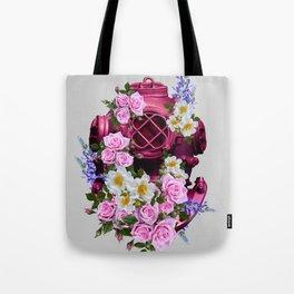 Flower Diver Tote Bag