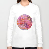 fruits Long Sleeve T-shirts featuring Tropical Fruits by LebensART