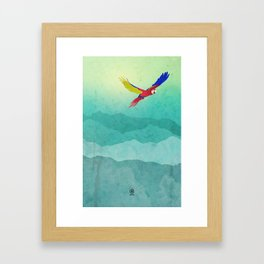 Macaw (Guacamaya) Framed Art Print