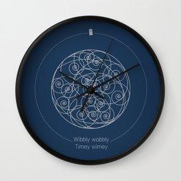 Doctor Who: Wibbly Wobbly Wall Clock