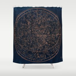 Constellations of the Northern Hemisphere Shower Curtain