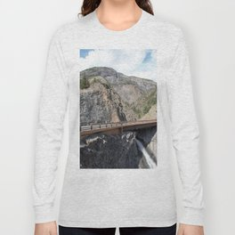 Bear Creek Falls in the Uncompahgre Gorge Long Sleeve T-shirt
