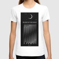 calendar T-shirts featuring 2015 Moon Calendar by Nick Wiinikka
