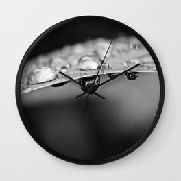 Simple Drops 3 Wall Clock