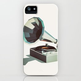 Lo-Fi goes 3D - Vinyl Record Player iPhone Case