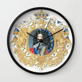 King Louis XIV Wall Clock
