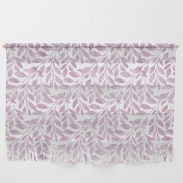 Lavender Leaves Pattern Wall Hanging