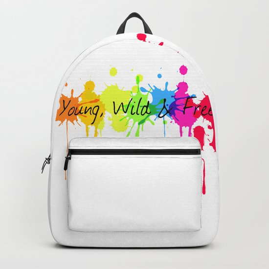 Young, Wild and Free Backpack