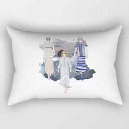 Fashionary - Blues Rectangular Pillow