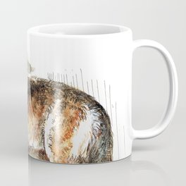 Totem Mexican Wolf ( Watercolor ) Coffee Mug