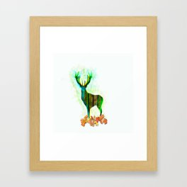 Deerskin Framed Art Print
