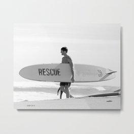 Rescue Metal Print