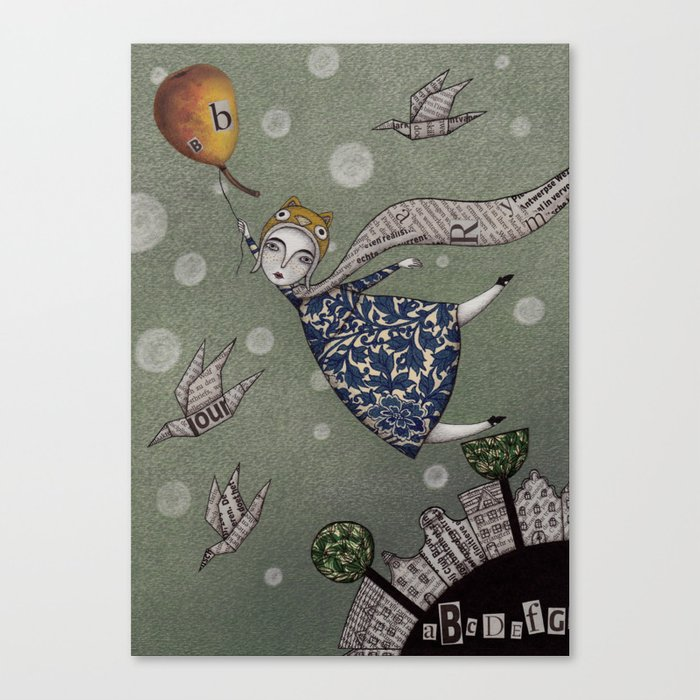 You can fly, Mary! Canvas Print