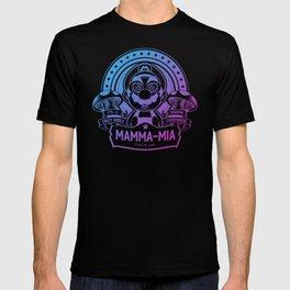 Mamma Mia Super Mario is-a Crazy T-shirt