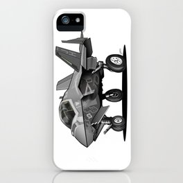 F-35C Lightning II Joint Strike Fighter Cartoon iPhone Case