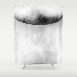 Touching Planets Shower Curtain