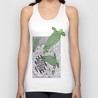 turtles Tank Tops featuring Turtles by Kandus Johnson