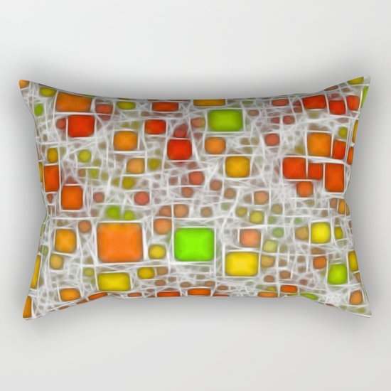 Ceramics Citrus Rectangular Pillow