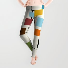 Mid-Century Modern Art 1.3 Leggings