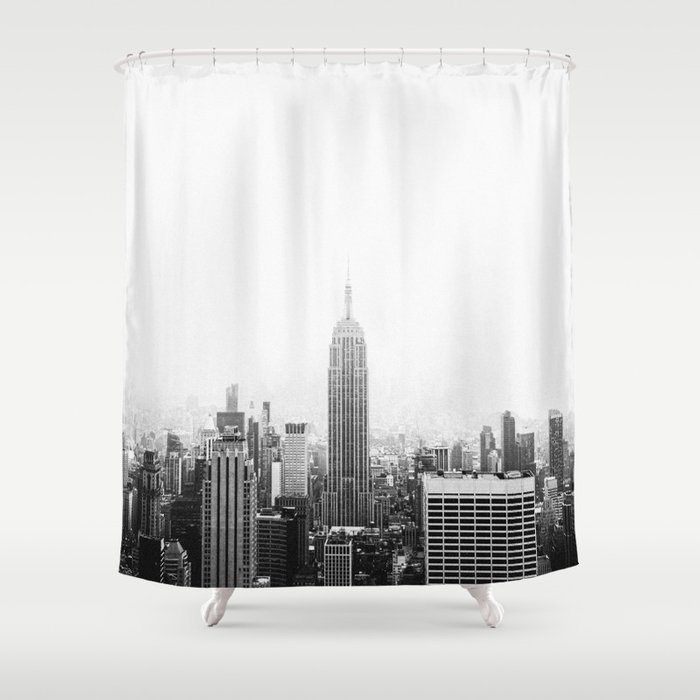 NEW YORK CITY Shower Curtain By Iiixvi
