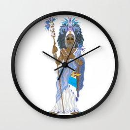 Obatala Wall Clock