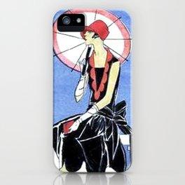 Art Deco Lady iPhone Case