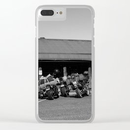Ride Easy Clear iPhone Case