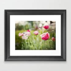 Pink Ladies Framed Art Print