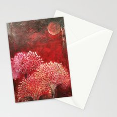 Secret life of (Red) Trees Stationery Cards