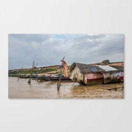 Chong Khneas Floating Village XVIII, Siem Reap, Cambodia Canvas Print
