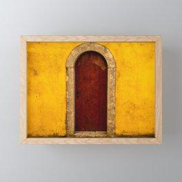 Palace Doors Framed Mini Art Print