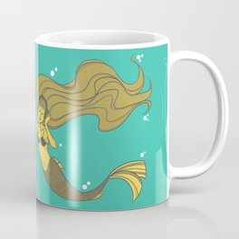 The Vinyl Mermaid Coffee Mug