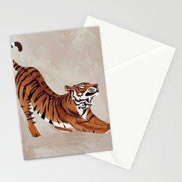 Tiger Stretch Stationery Cards